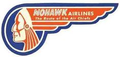 Mohawk Airlines - merged with Braniff