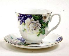 White Rose cup