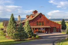 Valentine Farm 10 stall equestrian center with caretaker residence in Norwood, CO