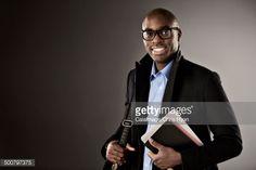 Stock Photo : Portrait of confident businessman
