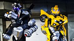 Transformers Cosplay: Humans in Disguise
