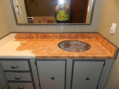 16 Best Brown Paper Bag Countertops And Floors Images In