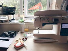 A sunny morning of sewing some custom Etsy orders and my new A/W16 designs. How are you all spending your Thursday?  #vscocam #etsydeskie #studio #handmade #sewing #etsyshop