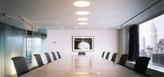Conference Room, Global Crossing | Lee H. Skolnick Architecture + Design Partnership | Archinect, Peter Aaron/Esto photos #office #modern #minimal #architecture #conference_room