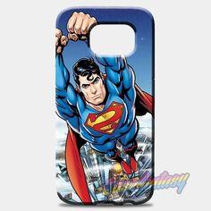 Superman Comic Montage Samsung Galaxy S8 Case   casefantasy
