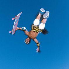 Christian Hosoi catching some air