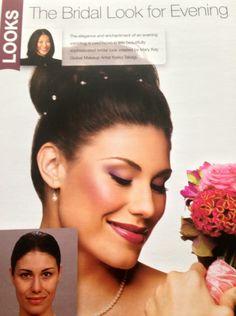 Mary Kay wedding makeup...