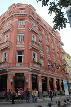Hotel Ambos Mundos, Havana, Cuba. Hemingway used to stay in this hotel. (V)