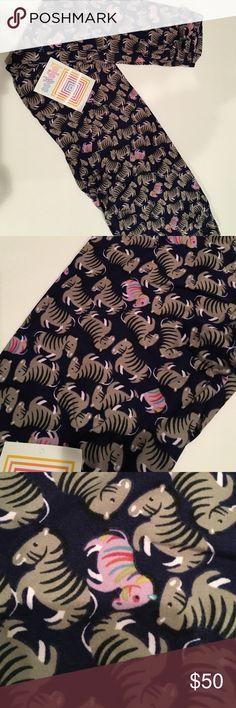 ULTRA RARE ZEBRAS!! Buttery soft leggings NWT Super rare zebra leggings SO adorable!! LuLaRoe Pants Leggings