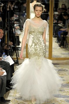 Gah dresses fit for Princesses. Marchesa Fall '12