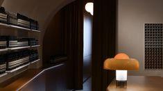 Aesop Getreidegasse, designed by Jakob Sprenger in collaboration with Götz Eßlinger, takes inspiration from Salzburg's opulent Baroque architecture. Aesop Store, Concrete Basin, Oak Panels, Baroque Architecture, Lawn Chairs, Design Department, Swimming Pools Backyard, Blue Tiles, Folding Doors