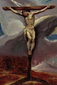 Christ at the Cross, by El greco