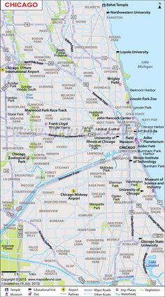 USA State Capitals And Major Cities Map Practice Writing Cities - Illinois map usa
