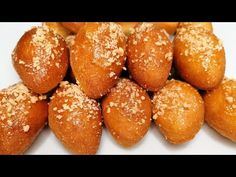 Only 1 egg and flour and milk, a very easy and very good recipe! #asmr # 122 - YouTube Asmr, 1 Egg, Dry Yeast, Beignets, Air Fryer Recipes, Pretzel Bites, Toffee, Food Storage, Biscotti
