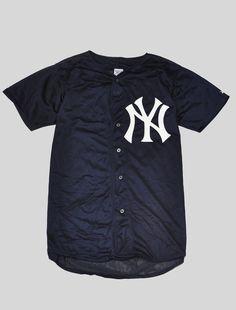 9cb0d97b406 NYC Yankees Baseball Jersey Dark Navy - where can i get this