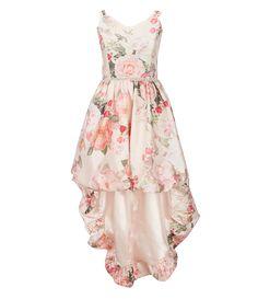 51db77d7d3a Xtraordinary Big Girls 7-16 Floral-Printed Hi-Low Bubble Dress