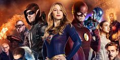 Video Superhero 2.0 , Supergirl , Flash, Green Arrow y Legends of Tomorrow