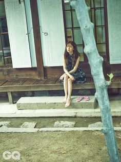 ♥ k magazines ♥ Baek Jin Hee, Empress Ki, Gq Magazine, Pride And Prejudice, Horror Stories, Korean, Actresses, September 2014, People