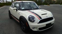 Mini Cooper 2 Color Bonnet and Boot Stripes Stripe Decals Decal Graphics fit all Year and Body Styles by SuperbDecalsLLC on Etsy