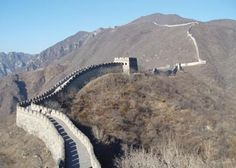 Great Wall of China via VIVA Great Wall Of China, Contrast, Travel, Great Wall China, Viajes, Destinations, Traveling, Trips