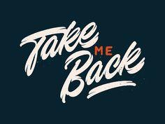 take me back - vector