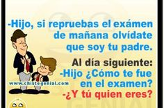 Chistes cortos para niños - Olvídate que soy tu padre. Mosquitos, Humor, Funny, Jokes For Kids, Miracles Of Jesus, Quotes For Birthday, Animal Jokes, Good Jokes, Fungi