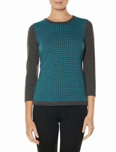 Diamond Pattern Sweater from THELIMITED.com