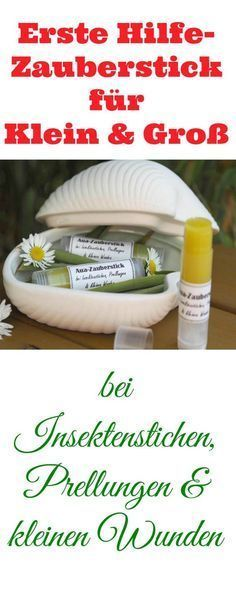 DIY Aua-Zauberstick: bei Insektenstichen, Prellungen & kleinen Wunden Today I have something really great for you and especially for your kids: an Aua magic stick [. Belleza Diy, Diy Shampoo, Homemade Cosmetics, Insect Bites, Diy Skin Care, Natural Cosmetics, Natural Medicine, Natural Healing, Diy Beauty