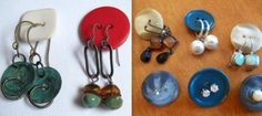 different ways and ideas to hang or present your jewelry