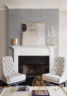 42 best wallpaper fireplace images fire places living room diy rh pinterest com