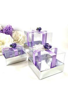 Custom Chocolate, Chocolate Box, Lilac Wedding, Burgundy Wedding, Wedding Favor Bags, Wedding Party Favors, Lilac Flowers, Lace Weddings, Favor Boxes