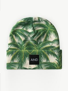 Image of Tropical Palm AND Beanie