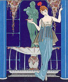 1914.Jeanne Paquin - evening dress