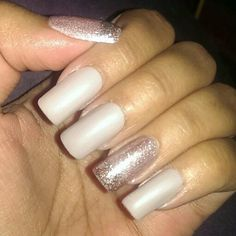 Add an accent nail to your custom nails and make them stand out even more!
