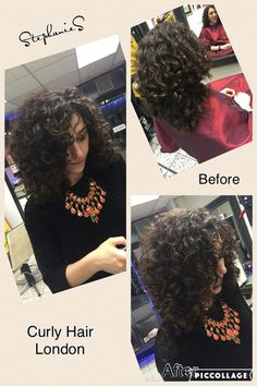 Dry Cut Curly Hair London