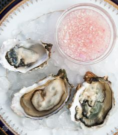 Mignonette Sauce for Oysters ~ A classic accompaniment to raw oysters, mignonette sauce made with shallots, vinegar, and white pepper. ~ Sim...