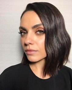 New haircut on 💇🏻‍♀️ #milakunis for #cinema-con #hair @chadwoodhair #makeup @muatraceylevy #styled @robzangardi
