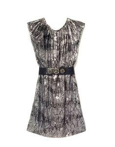 What to Wear to a Fall Wedding - Harper's BAZAAR. (Michael, Michael Kors dress)