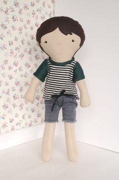 Hey, I found this really awesome Etsy listing at https://www.etsy.com/listing/207260536/boy-rag-doll-handmade-cloth-boy-doll