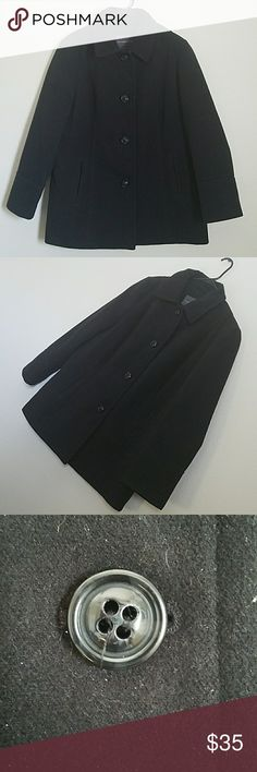 Almost new womens Covington pea coat Worn a few times like new no damge. Womens XL Covington brand warm peacoat. Super cute bell flare style at the sleeves and bottom of the coat. Sure to turn heads all winter while staying warm. If you are interested in measurements please lmk i am always available to help. Covington Jackets & Coats Pea Coats