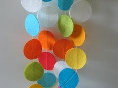 Idea for handmade felt mobile