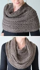 Knitting Pattern for Starshower Cowl - This wrap can be worn as cowl, shoulder cozy, or shawl. Knit in star stitch that showcases variegated sock yarn. Designed by Hilary Smith Callis und Wickel häkeln Shoulder Cozy Knitting Patterns Knitting Stitches, Knitting Patterns Free, Knitting Yarn, Free Knitting, Diy Tricot Crochet, Knit Or Crochet, Crochet Shawl, Crochet Granny, Crochet Bikini