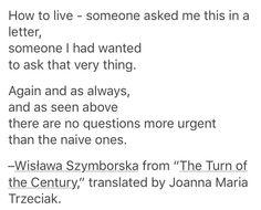 Wisława Szymborska •