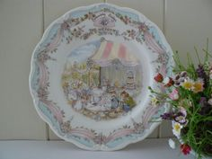 Hey, I found this really awesome Etsy listing at https://www.etsy.com/listing/160297583/brambly-hedge-vintage-plate-the-wedding