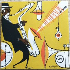 jazz-album-design joe-henderson-big-band-illustration-by-edwin-fotheringham-de