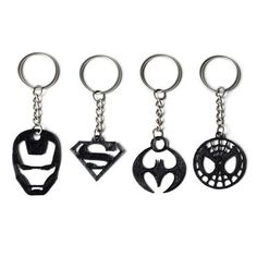 Download on https://cults3d.com #3Dprinting #Impression3D 3D Superhero Keychain Collection, FORMBYTE #3dprintingprojects