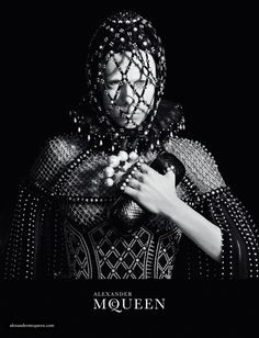 Edie Campbell by David Sims for Alexander McQueen Campaign F:W 2013-2014
