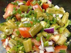 Imagem da receita Salada de quiabo