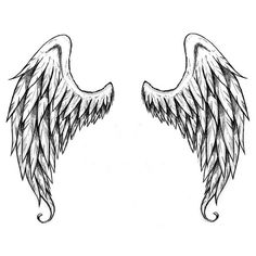 """These lovely wings are the perfect size for putting on your back or shoulders! Trick your friends and family into thinking you were sent from heaven! Size: 6.5"""" x 7"""" - Lasts 5-7 days even with swimmin"""
