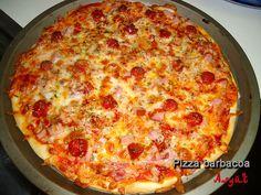 Pizza barbacoa casera 100% de Asyut.